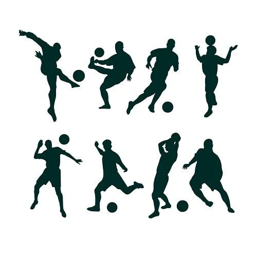 تمرینات بازیکنان فوتبال